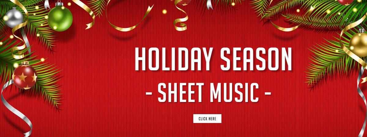 Top Christmas and Holiday Season Sheet Music