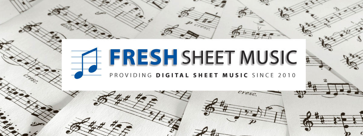 Download or print sheet music notes from FreshSheetMusic.com