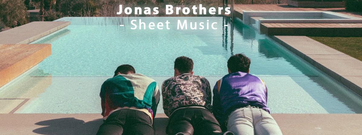 jonas Brothers Sheet Music