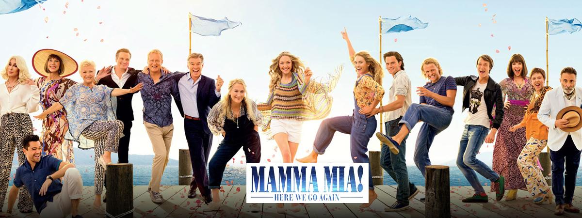 Mamma Mia! Here We Go Again, Musical, movie